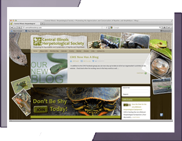 Central Illinois Herpetological Society Website Design & Development