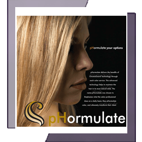 Phormulate Hair Care Brochure